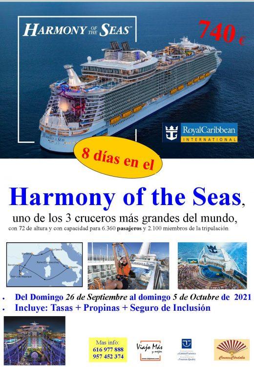 crucero mediterraneo Royal 2
